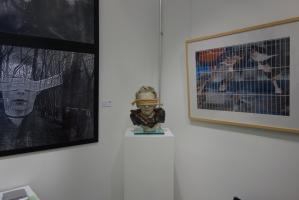 Lichtraum eins Exhibition Oct 2018 Global Affairs of ART Der zufriedene Sklave - Bondage